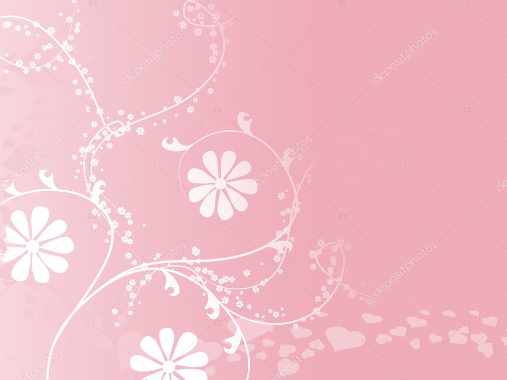 Abstract floral background series7 design6 — Stock Vector #1716467