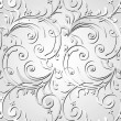 Grey artistic design background — Imagen vectorial