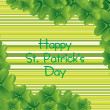 St. patrick's day illustration — Stock Vector