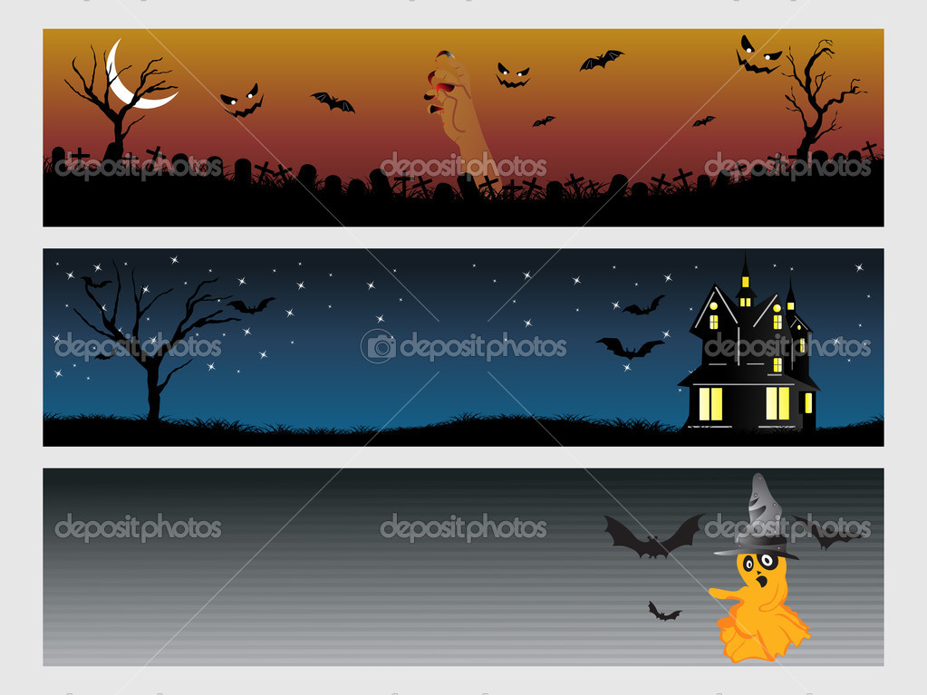 Abstract halloween banner series set11 — Stock Vector #1869858