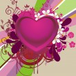 Vector de stock : Vector romantic background
