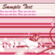 Royalty-Free Stock Immagine Vettoriale: Abstract floral romantic background
