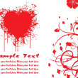 Royalty-Free Stock Vectorafbeeldingen: Beautiful heart-shape illustration