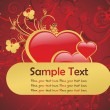 Royalty-Free Stock Imagen vectorial: True love banner illustration