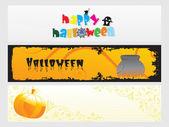 Abstract halloween banner series set18 — Stock Vector