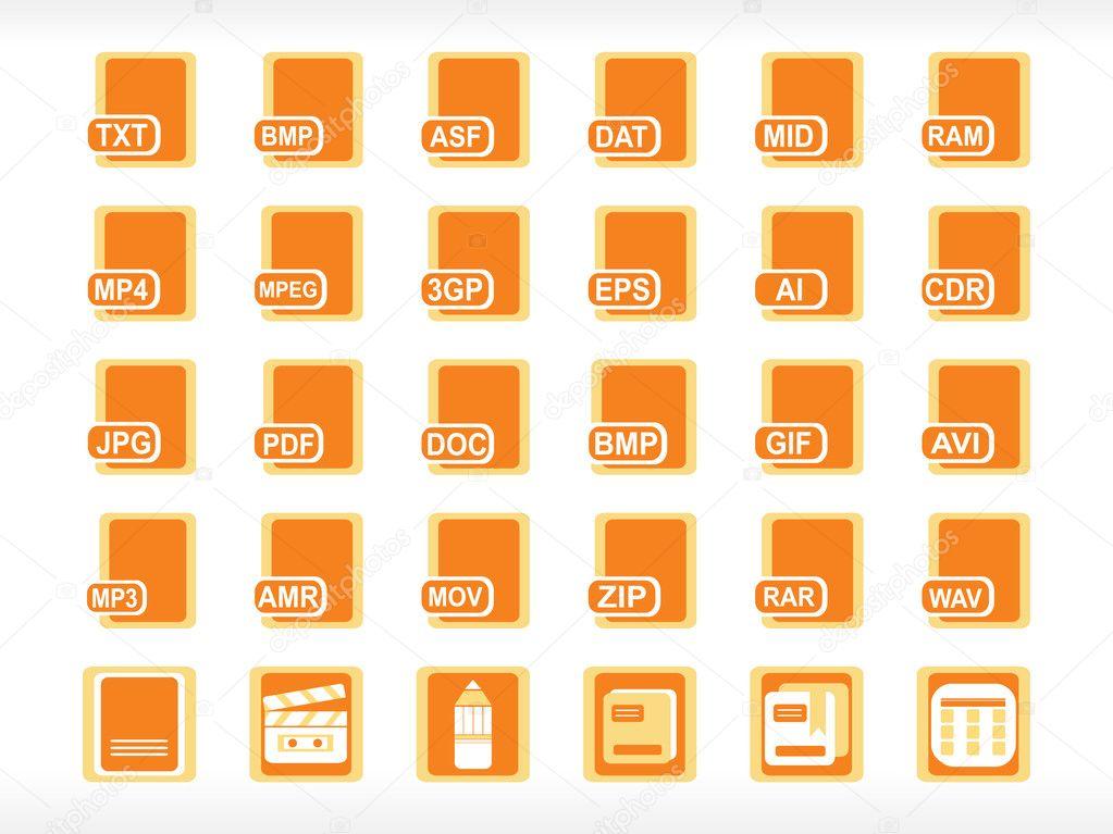 Computer File Icon Icon For Computer File Formate