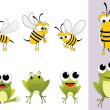 Royalty-Free Stock Imagen vectorial: Set of animal