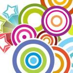 Colorful artwork pattern wallpaper — Stock Vector #2160781