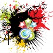 Colorful grunge background — 图库矢量图片 #2162578
