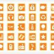 Royalty-Free Stock Vector Image: Vector icons set