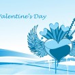 Illustration for valentine day — Vettoriali Stock