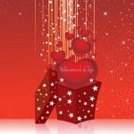 zázemí pro Valentýna — Stock vektor