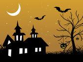 Abstract halloween series5 design2 — Stock Vector