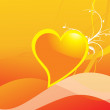 Royalty-Free Stock Imagen vectorial: Abstract valentine heart