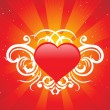 Abstract valentine heart — Stock Vector #2197881