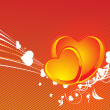 Abstract valentine heart — Vector de stock #2198311