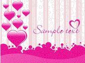 Valentine day greeting — Stock Vector