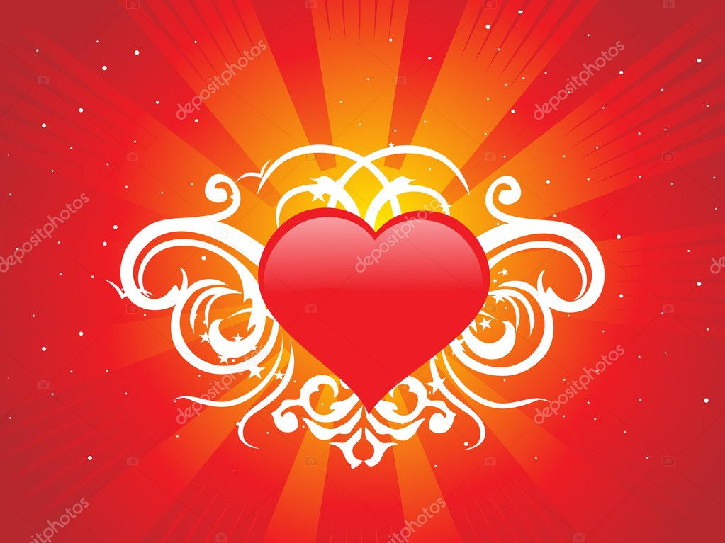 Abstract valentine heart series7, design17  Stock Vector #2197881