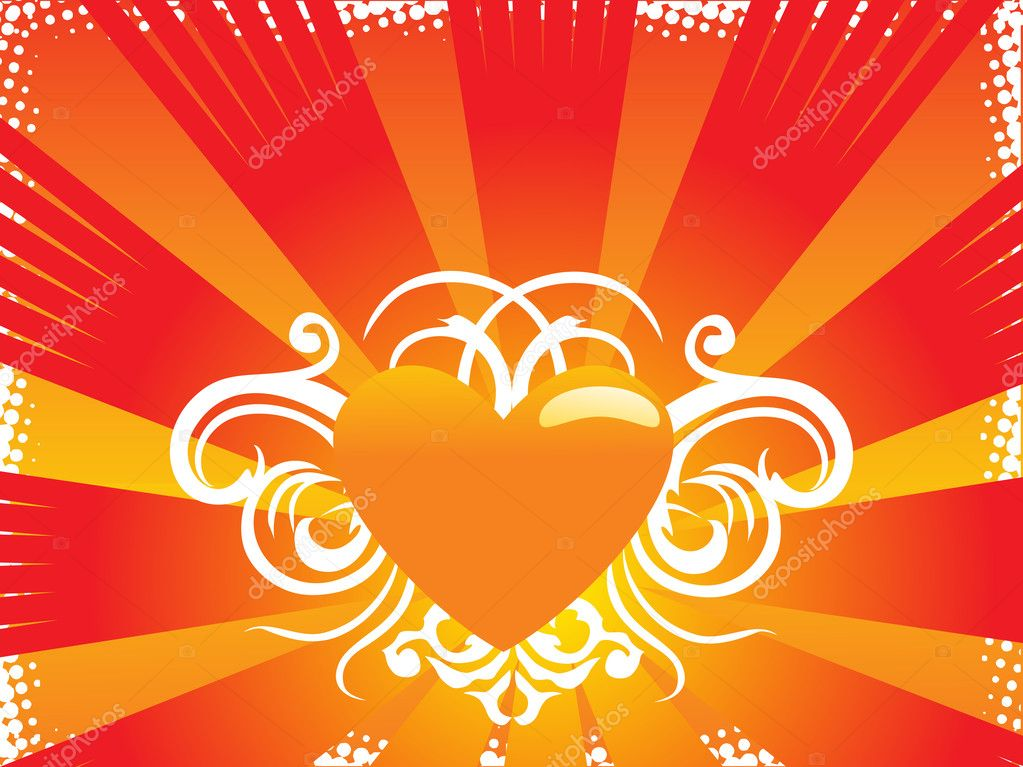 Abstract valentine heart series7, design35 — Stock Vector #2198526