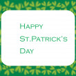 St. patrick's day greeting card - Stock Vector