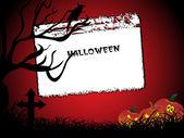 Abstract halloween background — Stock Vector