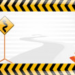 Vector road sign illustration — Stock Vector #2230751