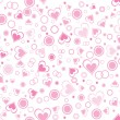 Royalty-Free Stock Vectorielle: Illustration of romantic pattern