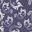 Background with floral pattern — Stock vektor