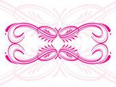 Artistic design fancy tattoo — Stock Vector