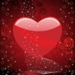 Abstract valentine day background — Stockvektor