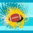 American footbal background, wallpaper - Stock Vector