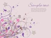 Swirl design background — Stock Vector
