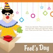 Vector for fools day -  