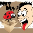 Illustration for fools day - Stock Vector