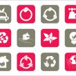 Royalty-Free Stock Imagen vectorial: Vector of web icons