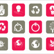 Royalty-Free Stock Vector Image: Collection of web icons