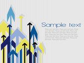 Arrow vector series, style17 — Stock Vector