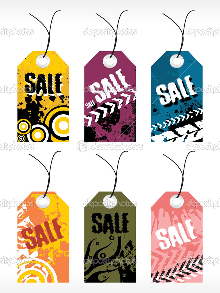 Abstract vector tag series set7 — Stock Vector #2335505