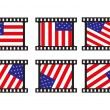 Vector stamp with us flag — Stock Vector #2361963