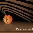 Royalty-Free Stock Vector Image: Basketball abstract background
