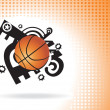 Royalty-Free Stock Vector Image: Basketball vector background