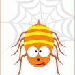 Cute spider illustration — Stock Vector #2364591