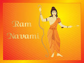 Ramnavami background — Stock Vector