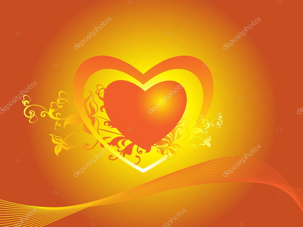 Beautiful love theme wallpaper stock vector for Love theme images