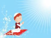Illustration fr ramadan — Stock Vector