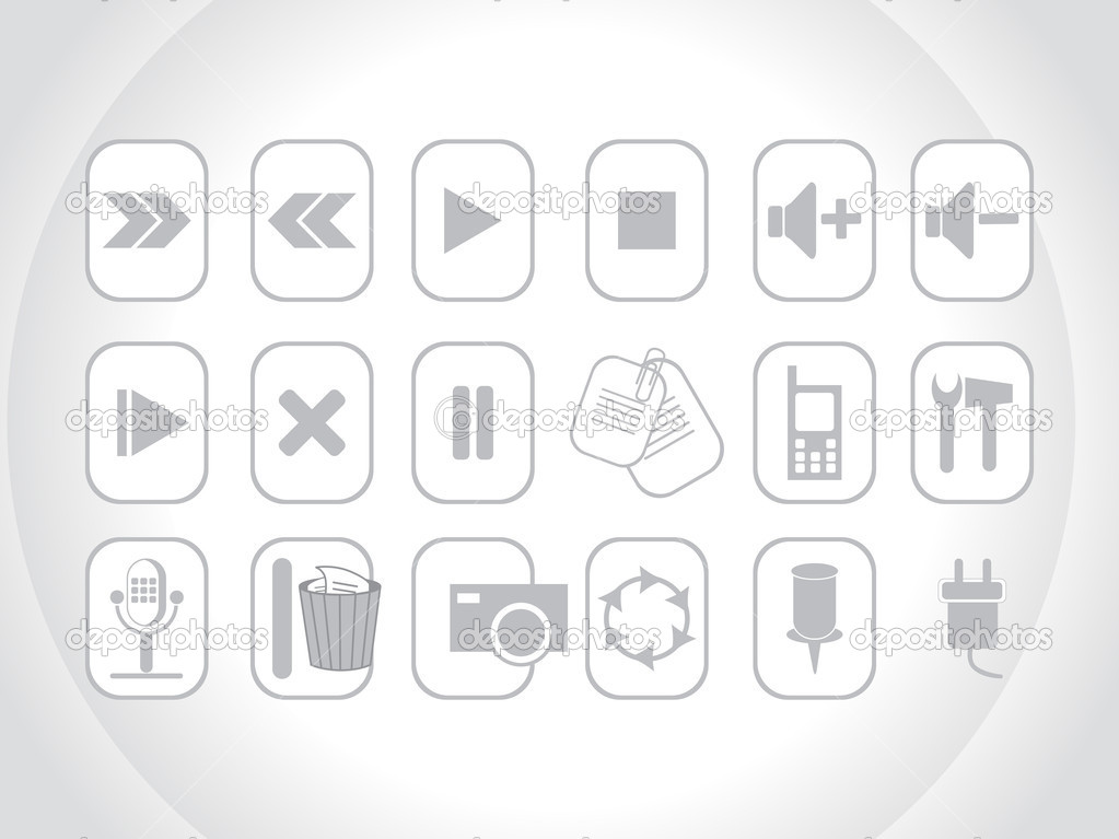 Best logos and web icon - Stock Illustration