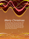 Abstract artwork for christmas day — Stock Vector