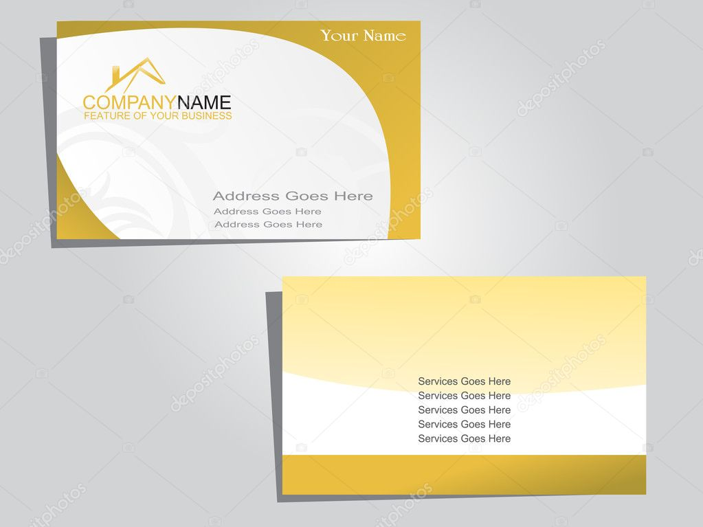 Vector business card stock vector c alliesinteract 2428526 for Business card background vector