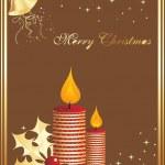 juldagen bakgrund — Stockvektor