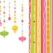 Christmas background illustration - Stock Vector
